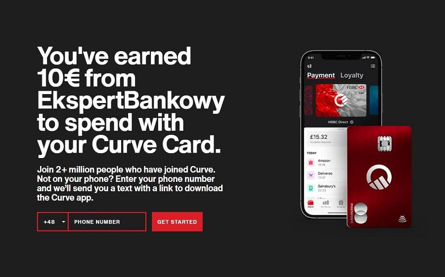 Curve Card Promo Code